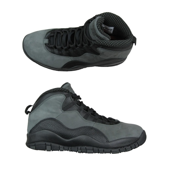 9f4b98a9a Air Jordan Retro 10 Dark Shadow Black Gray